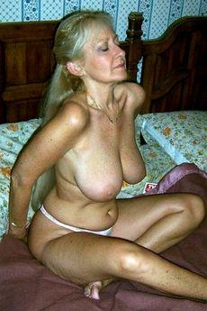 Sexy half naked woman